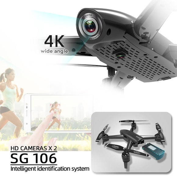 sg106 drones with camera hd dron rc helicopter drone 4k toys quadcopter drohne quadrocopter helikopter selfie remote control