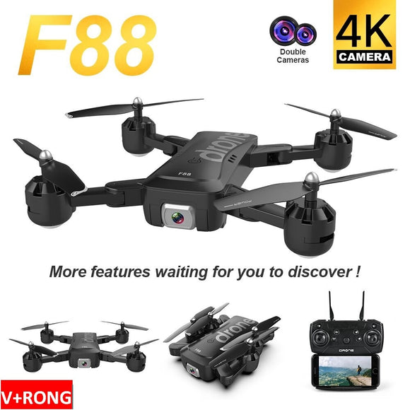 F88 Ultra-long battery life drones in 2020 mavic pro 2 accessories dji phantom 3 standard dji spark propeller drohne 4k