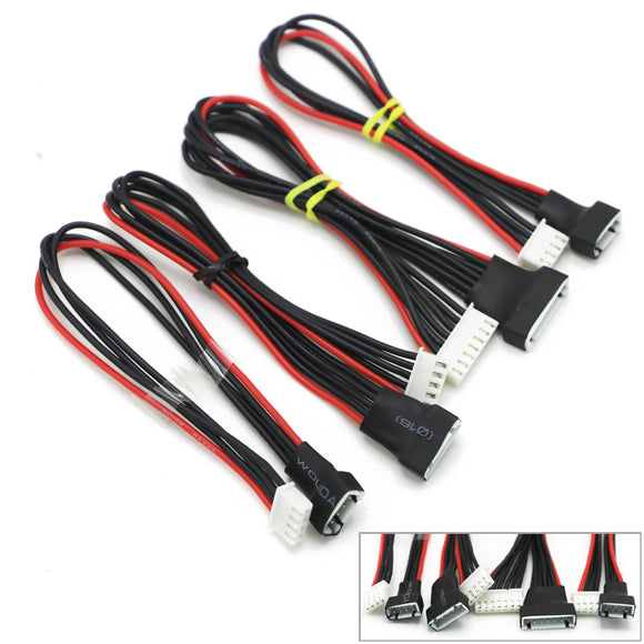 5pcs/lot JST-XH 2S 3S 4S 6S 20cm 22AWG Lipo Balance Wire Extension Charged Cable