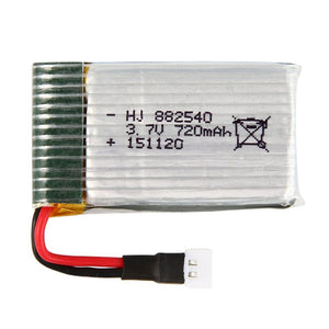 HOT SALE 4x 3.7 720mAh Battery 4 in1 USB Charger for Syma X5C X5A Drohne Quadcopter BC522