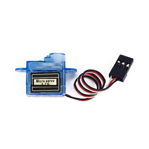 Micro 3.7g Servo For Control Aeromodelling Aircraft Flight Direction Helicopter Model 4.8 To 7.2 Volts Steering Gear Micro Servo