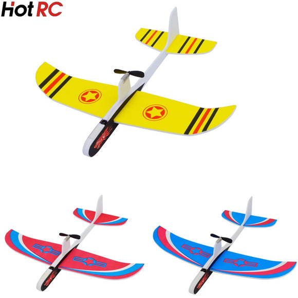 DIY Kids Toys Capacitance Hand Throw Flying Glider Planes Foam Aeroplane Model Party Bag