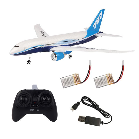 DIY Remote Control Aircraft EPP RC Drone Boeing 787 2.4G 3Ch RC Airplane Fixed