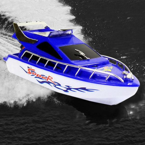 RC Speedboat Super Mini Electric Remote Control High Speed Boat Ship 4-CH RC