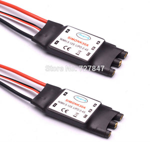 NEW 30A Simonk  Firmware Electronic Speed Controller ESC with 3.5mm Banana connector for F450 S550 RC Multicopter and Helicopter