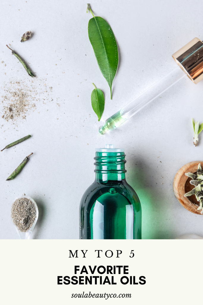 Five of My Favorite Essential Oils