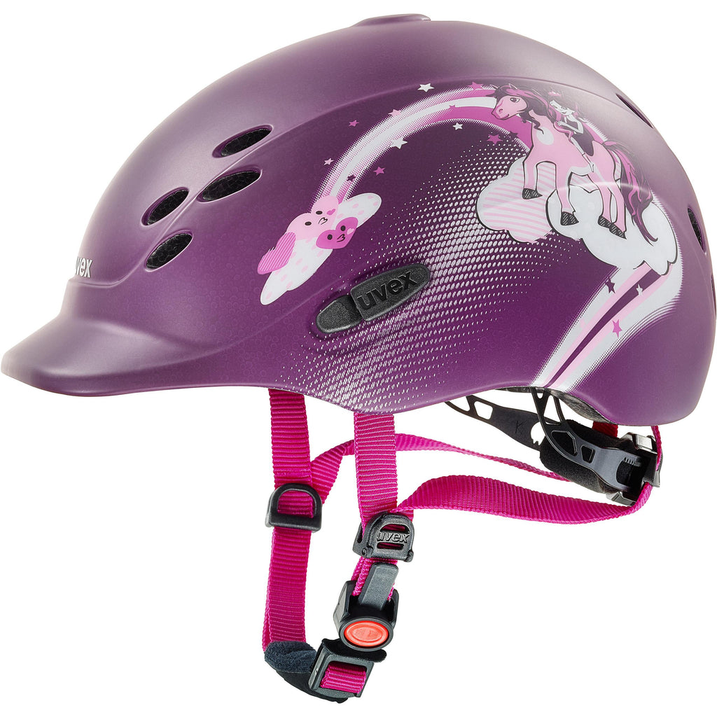 Fair Price Equestrian | Uvex Onyxx Dekor Childrens Riding Helmet