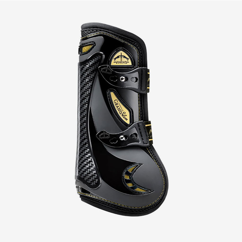 Fair Price Equestrian | Veredus Grand Slam Carbon Gel Gold Edition Boot. Front