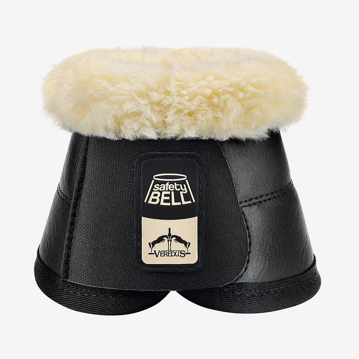 Black Veredus Safety Bell SAVE the SHEEP Overreach Boot