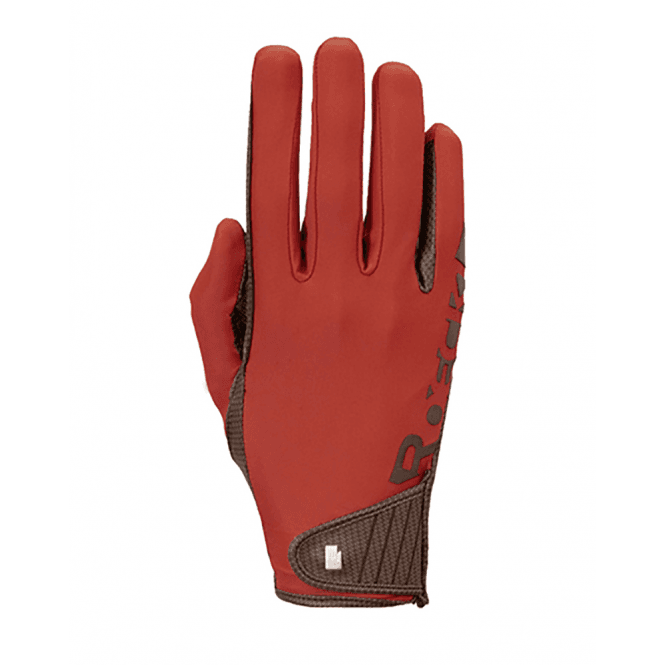 Autumn Red Roeckl Muenster Glove