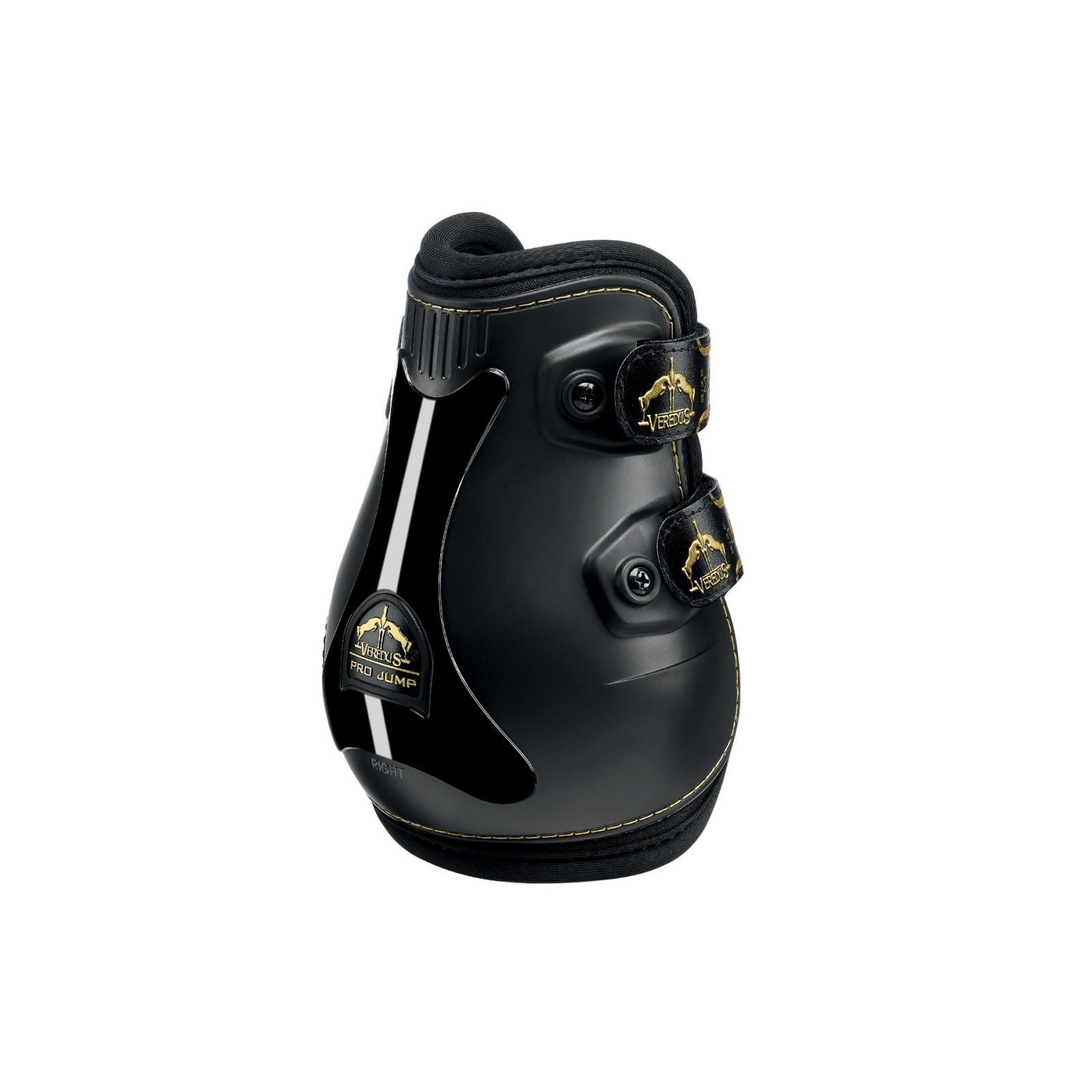 Black Veredus Grand Slam Pro-jump Gold Edition Fetlock Boot