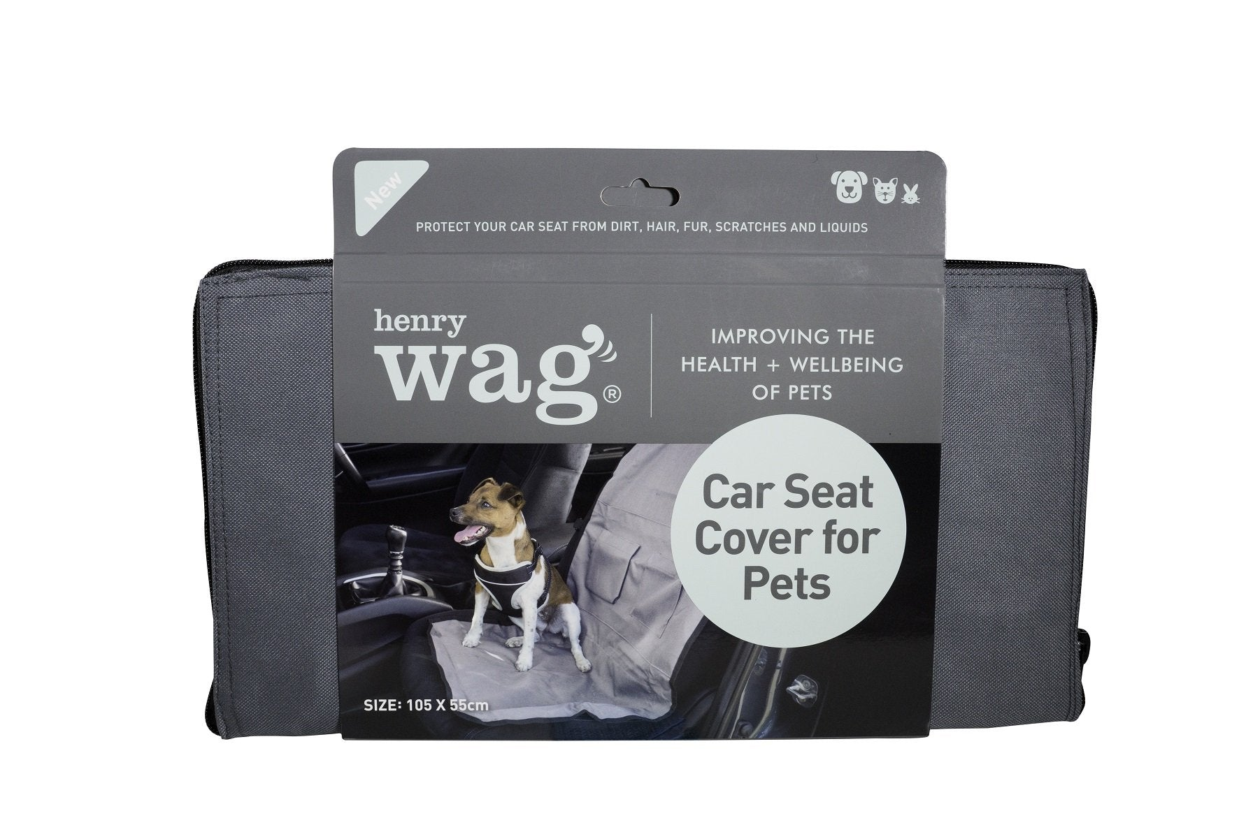 Fair Price Equestrian | Henry Wag Single Car Seat Cover