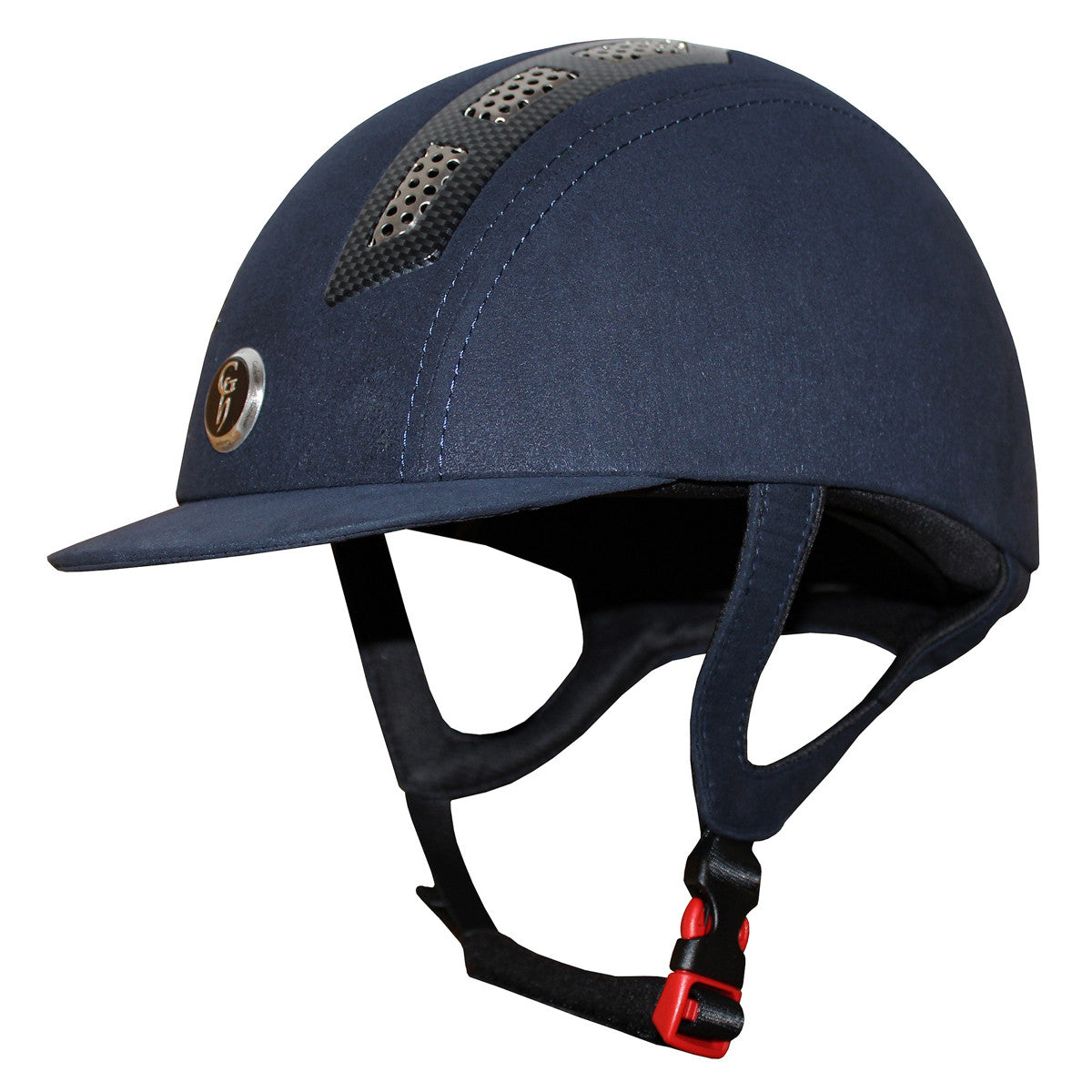 Fair Price Equestrian | Gatehouse Suedette Chelsea Air Flow Pro Riding Hat