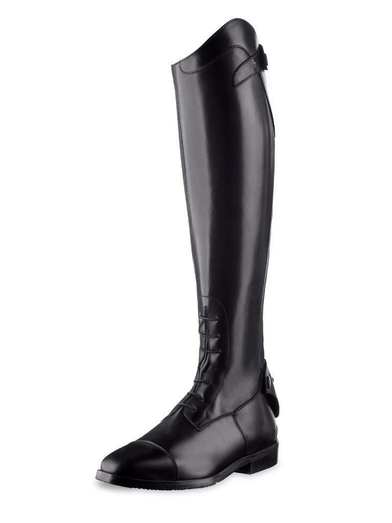 Fair Price Equestrian | Ego7 Orion Tall Boot With Laces BLACK