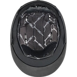 Black Uvex Suxxeed Diamond Riding Helmet Inside