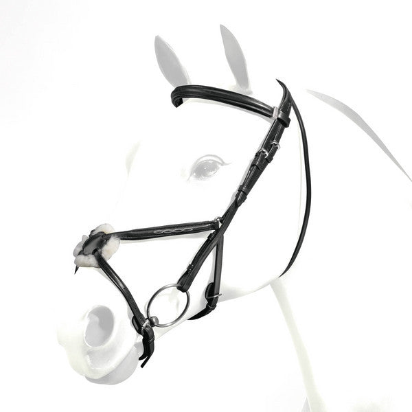 Fair Price Equestrian | Equipe Emporio Figure 8 Padded Bridle With Stitching BRE05