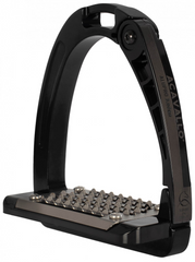 Black Acavallo Arena AluPro Junior Stirrup