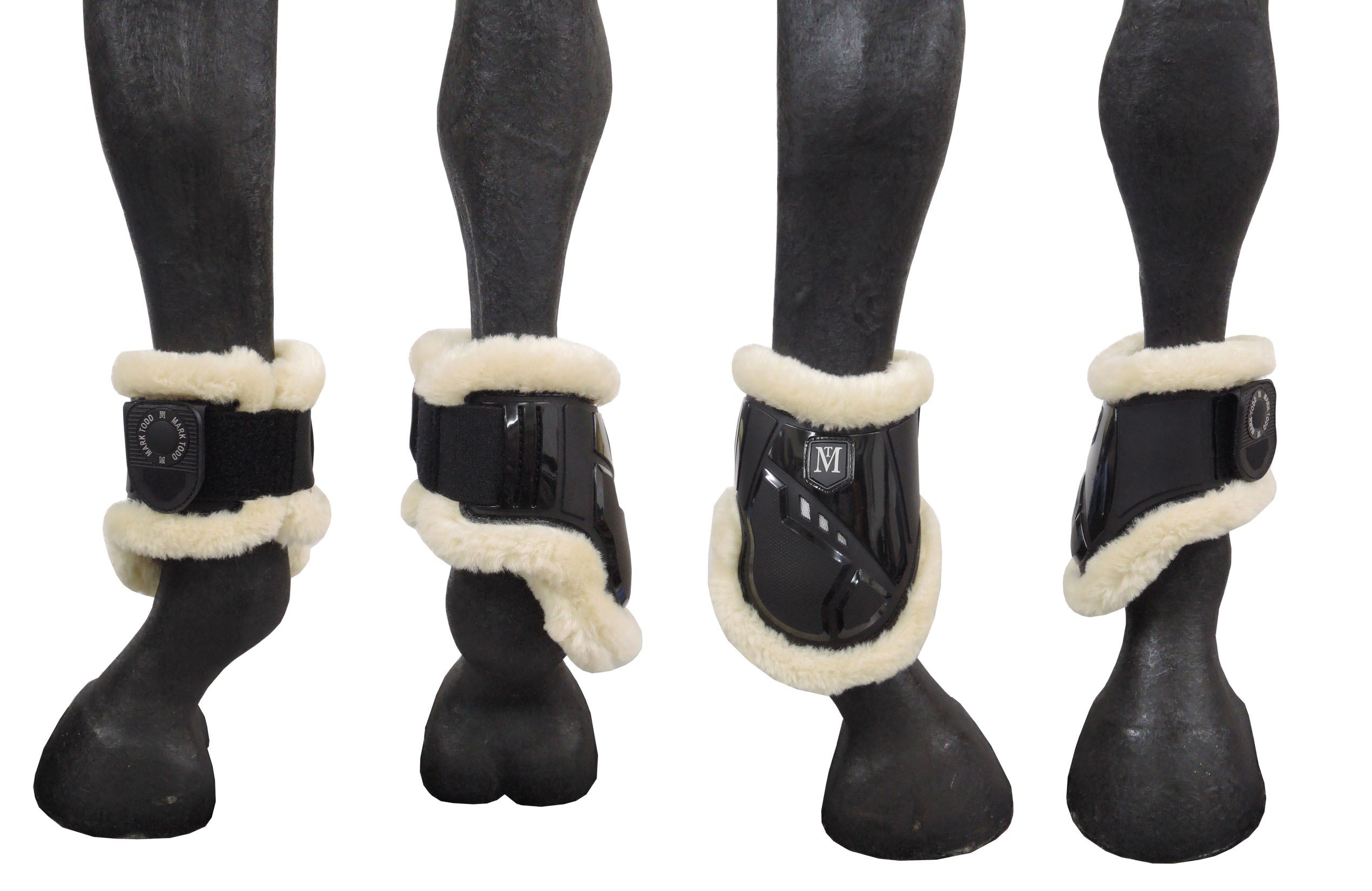 Fair Price Equestrian | Mark Todd Air Vent Fetlock Boot with Fleece