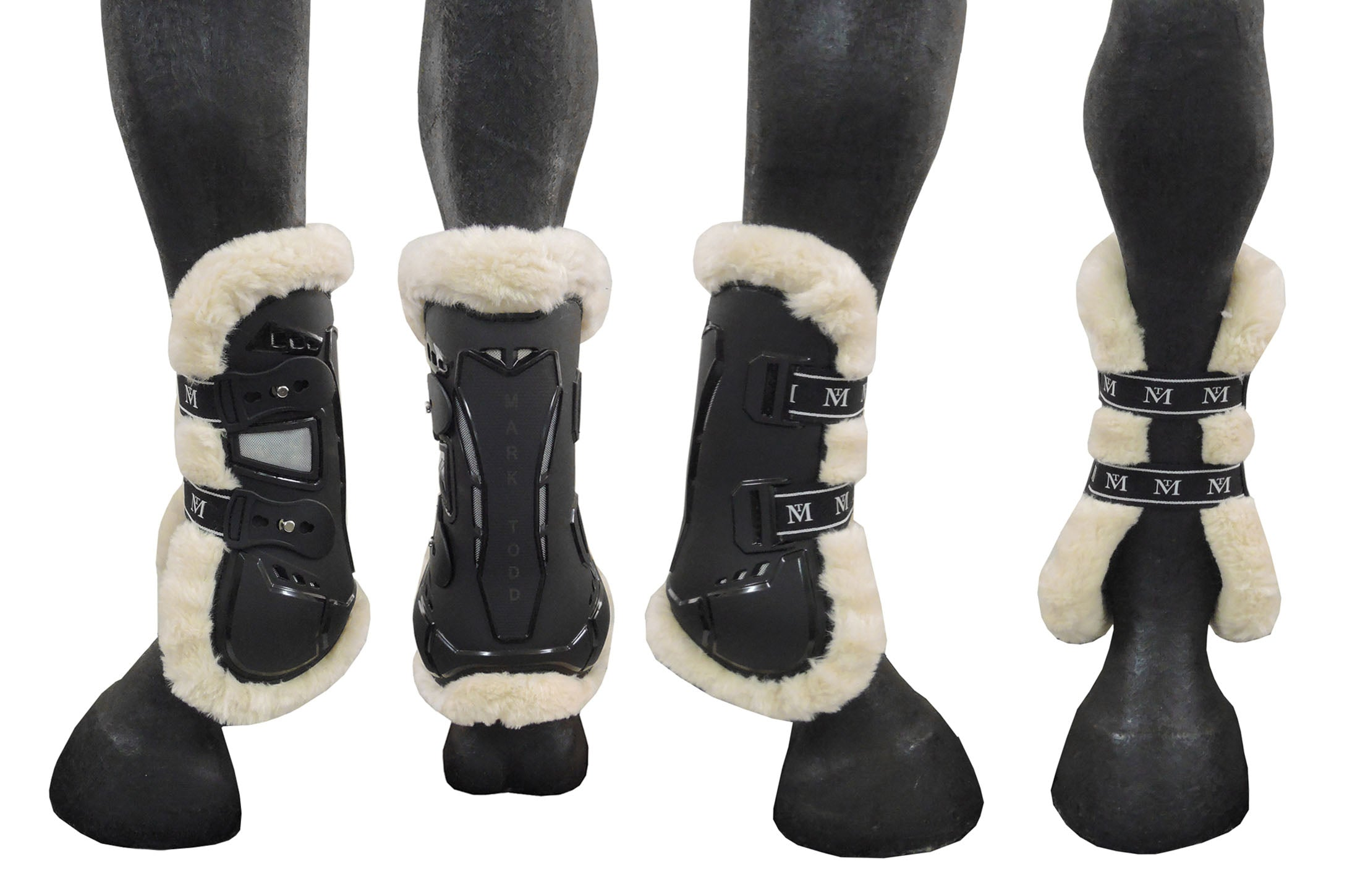 Fair Price Equestrian | Mark Todd Air Vent Tendon Boot with Fleece