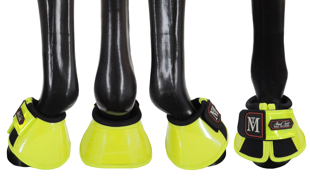 Fair Price Equestrian | Mark Todd Pro Reflective Over Reach Boots