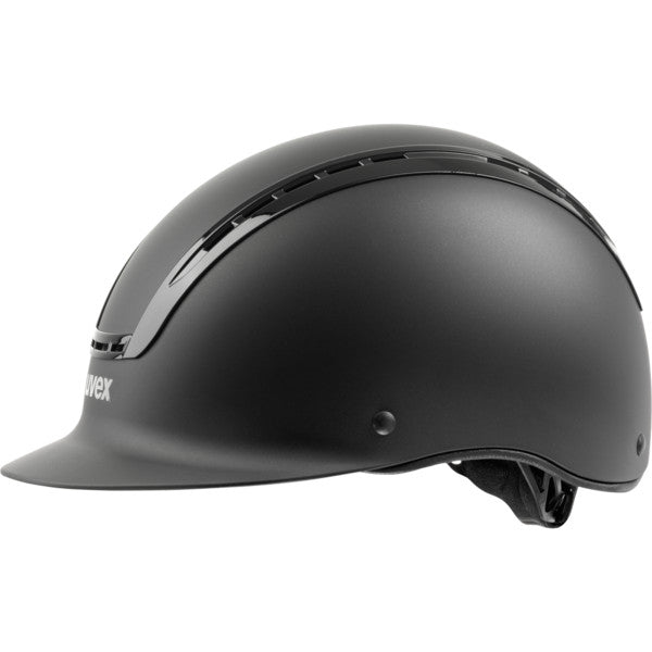 Black Matt Uvex Suxxeed Active Riding Helmet