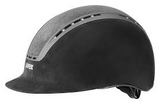 Black Uvex Suxxeed Glamour Riding Helmet
