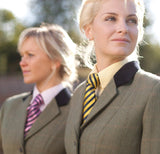 Fair Price Equestrian | Equetech Broad Stripe Showing Tie