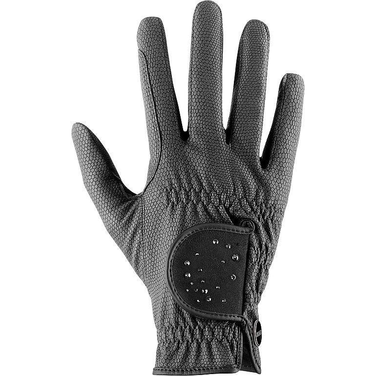 Black Uvex Sportstyle Diamond Equestrian Riding Glove