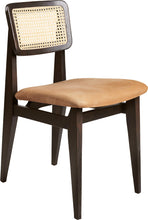 Load image into Gallery viewer, C-Chair Dining Chair - Seat Upholstered, French Cane back