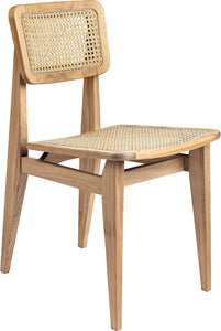 C-Chair Dining Chair - Un-Upholstered, All French Cane