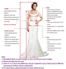 Load image into Gallery viewer, 2019 Prom Dresses | Champagne tulle V neck sweep train formal prom dress,  evening dress with sleeves