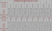 Load image into Gallery viewer, 2019 Prom Dresses | Blue chiffon customize long A-line senior prom dress, long beaded party dresses