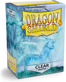 Dragon Shield Clear Matte 100 Protective Sleeves