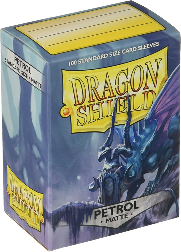 Dragon Shield Petrol Matte 100 Protective Sleeves
