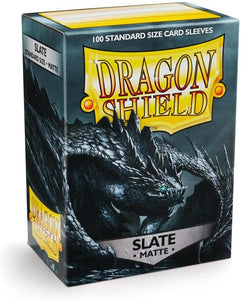 Dragon Shield Slate Matte 100 Protective Sleeves