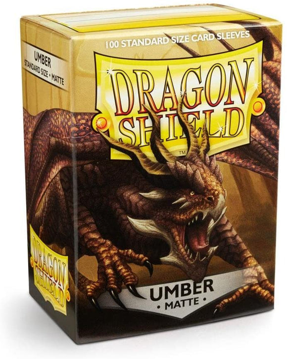 Dragon Shield Umber Matte 100 Protective Sleeves