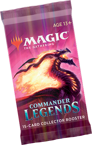 Commander Legends - PRE-ORDER - Collector Booster PACK