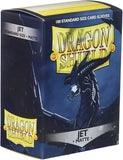 Dragon Shield Jet Matte 100 Protective Sleeves