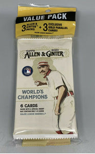 2020 Topps Allen & Ginter Sealed Cello Fat Pack