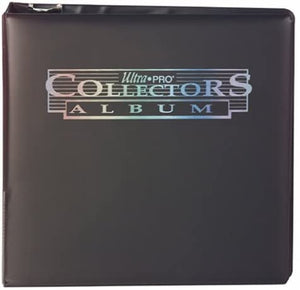 "Ultra Pro 3"" Black Collectors Binder"