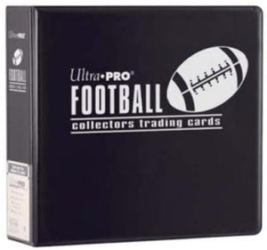 "Ultra Pro 3"" Black Football Binder"