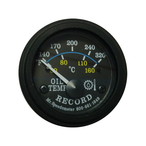 Oil Temperature Gauge - Record Technologies