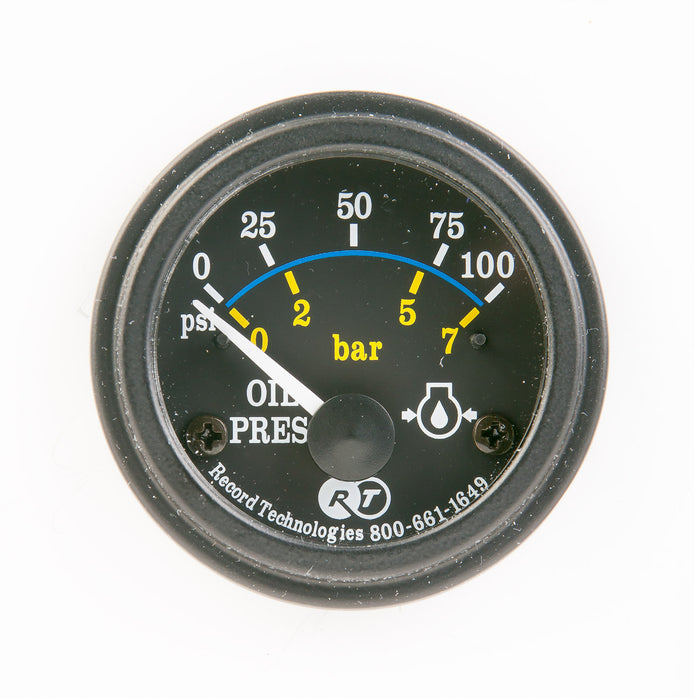 Oil pressure gauge - Record Technologies