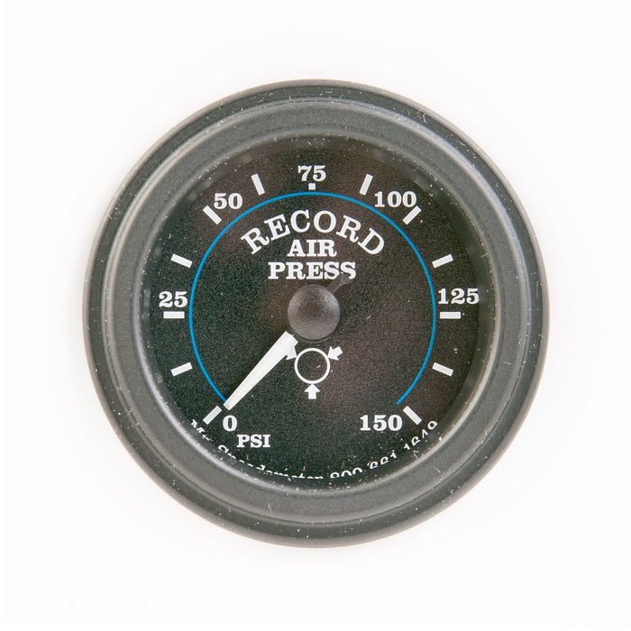Air Pressure Gauge 0-150 psi  Mechanical - Record Technologies