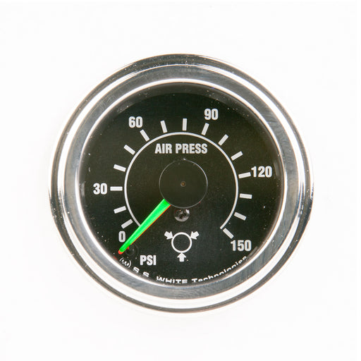 Air Pressure Gauge 0-150 psi  - Record Technologies