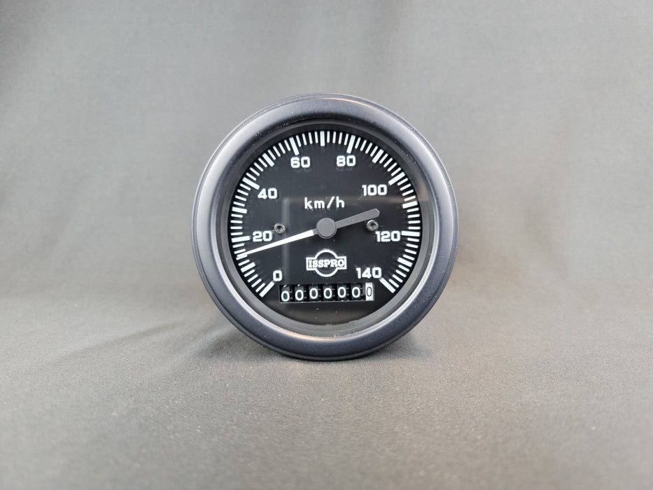ISSPRO 3 3/8 Inch Electric Speedometer - KPH - R8401M