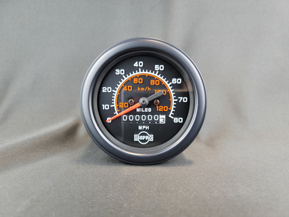 ISSPRO 3 3/8 Inch Mechanical Speedometer - MPH - R8496