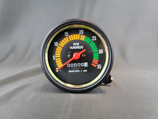 RECORD 3 3/8 Inch Mechanical Tachometer - 0-3500rpm - 0.5:1 - HG101