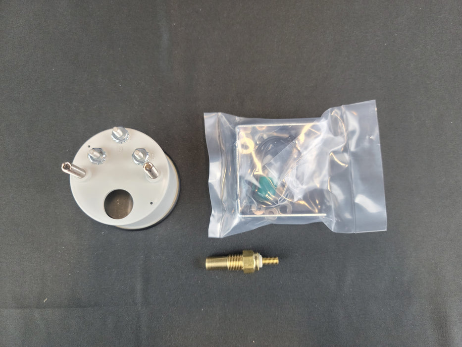 RECORD 2 Inch Water Temp Gauge Kit 100-280f - HG129K