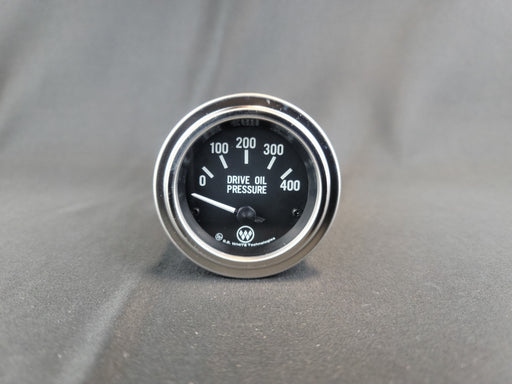RECORD 2 Inch Oil Pressure Gauge 0-400psi - Electric - HG149